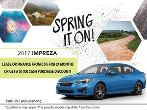 2017 Impreza 4-door