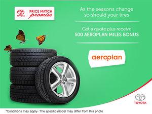 Plan for Spring and Earn Aeroplan Bonus Miles
