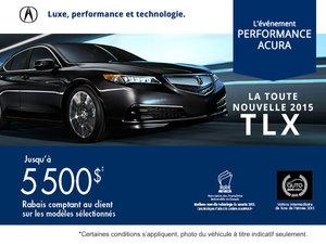 Acura TLX 2015 en location