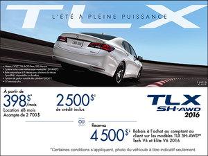 Acura TLX 2016 en location