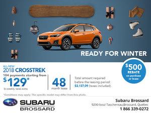 Save on the 2018 Subaru Crosstrek Today!