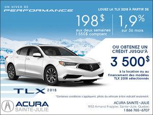 Acura TLX 2018 en location