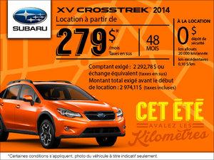 Subaru XV Crosstrek 2014 en location mensuelle à partir de 279$