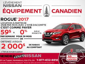 Louezletout nouveau Nissan Rogue 2017!