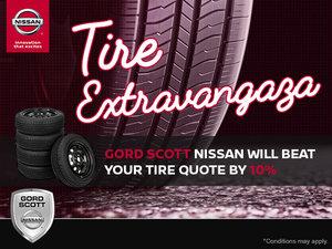 Gord Scott Nissan's Tire Extravaganza