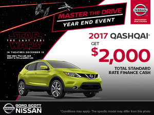 Get the 2017 Qashqai Today