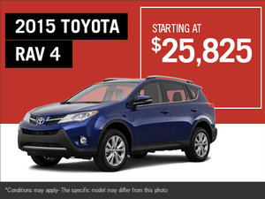 The 2015 Toyota RAV4 is here!
