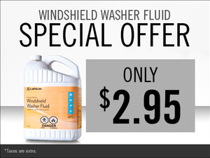 Save on Windshield Washer Fluid!