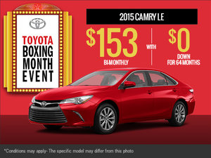 The all-new 2015 Toyota Camry is here!