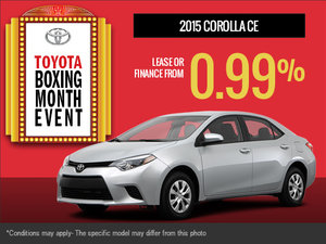 The all-new 2015 Toyota Corolla is here!