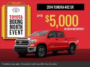 New 2014 Toyota Tundra!