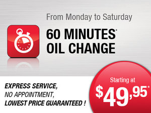 Express Service starting from $49.95