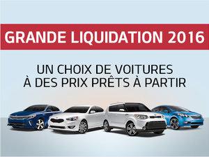 Grande Liquidation 2016