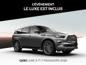 INFINITI QX80 NEUF EN PROMOTION À MONTRÉAL CHEZ SPINELLI INFINITI