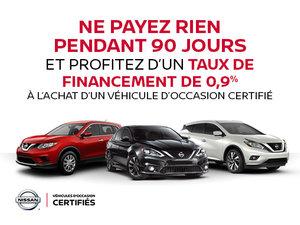 Promotion Véhicule d'occasion Certifié Nissan