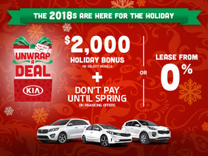 Kia Unwrap a Deal Event