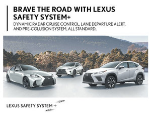 Discover the Lexus Safety System+