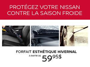 Forfait esthétique hivernal Nissan