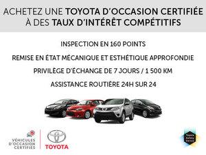 Véhicules d'occasion Certifiés Toyota