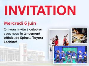 Lancement officiel de Spinelli Toyota Lachine