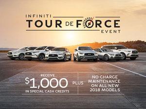 Infiniti's Tour de Force Event