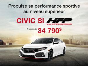 Honda Civic Si HFP en promotion à Montréal