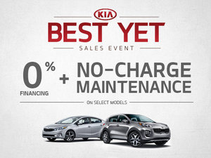 Kia's Best Yet Sales Event