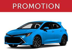 Toyota Corolla Hatchback Neuf en Promotion à Lachine