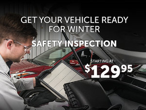 PROMOTION : 55-point inspection and oil change