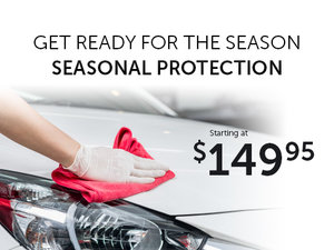 Brilliant Offer on our Seasonal Protection Detailing Package