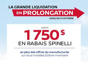L'Événement La Grande Liquidation de Nissan en Prolongation
