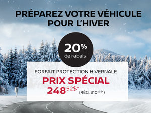 Préparez votre véhicule pour l'hiver