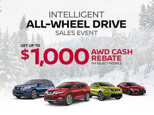 Nissan's Intelligent All-Wheel Drive Sales Event
