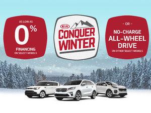 Kia's Conquer Winter Event