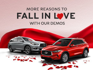 The Great Infiniti Demo Sales Event