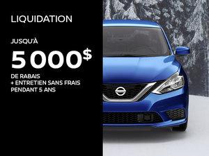 Événement Liquidation Nissan 2018