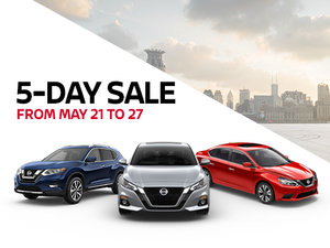 The Nissan 5-Day Sale
