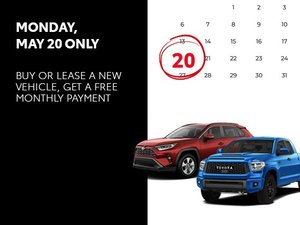 Free First Monthly Payment