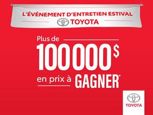 L'événement d'entretien estival Toyota