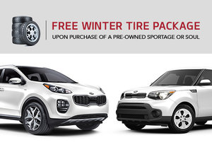 Get a free winter tire package