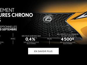 Vente 72 heures Lexus