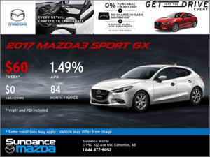 Save on the 2017 Mazda3 Sport Today!