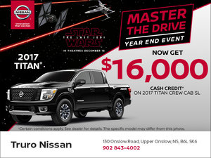 Buy the 2017 Titan Today