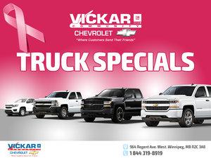 Vickar Community Chevrolet Truck Specials