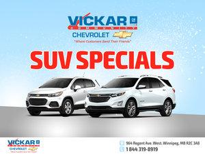 Vickar Chevrolet SUV Specials