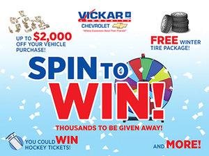 Vickar Chevrolet November Specials