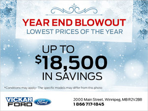 Year End Blowout