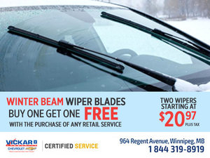 Wiper Blades Promotion