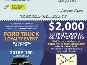 Ford Truck Loyalty Event