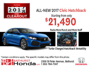 Get the All-New Civic Hatchback